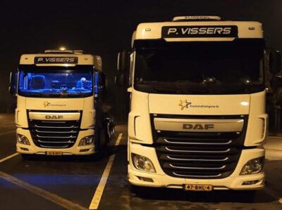 P Vissers Transport Vrachtwagens Cabines